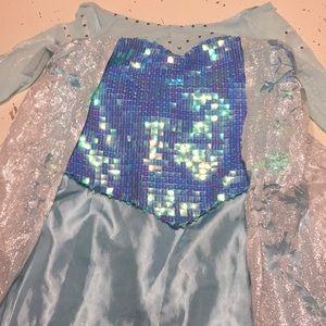 Disney chasing fireflies Elsa dress xL 14-16